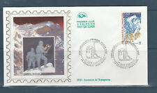 enveloppe  1er jour  conquete de l' Anapurna  74 Chamonix mont blanc   2000