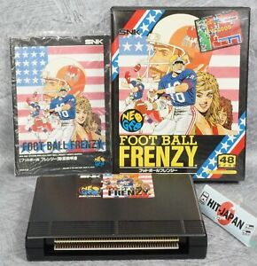 NEO GEO AES FOOT BALL FRENZY SNK FREE SHIPPING Ref 0929