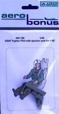 Aerobonus 480198 1/48 Resin USAF Fighter Pilot with ejection seat Northrop F-5E