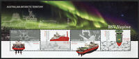 AAT Australian Antarctic Ter Ships Stamps 2020 MNH RSV Nuyina Icebreakers 4v M/S