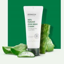 Aromatica 95% Natural Aloe Aqua Cream 150g/5.3oz K-beauty Soothing Care K-beauty