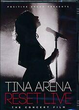 Tina Arena Reset Live The COncert Film DVD NEW
