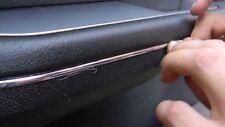 9mm x 4 METER ZIERLEISTEN Chrom Auto selbstklebend Universal NEU 4 meter