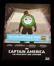 CAPTAIN AMERICA : THE WINTER SOLDIER - FRANCE FNAC BLU-RAY STEELBOOK + BOOKLET