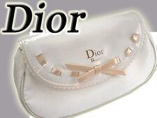100% autentico LTD EDITION DIOR Jadore COUTURE Beauty ~ Makeup ~ Viaggio Borsa Bianco