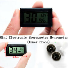 Mini Portatile Termometro Igrometro LCD Digitale Interno Bianco con Batterie Nec
