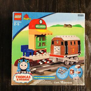 Lego Duplo Thomas The Tank Engine Toby at Wellsworth Station (5555)