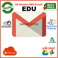 Edu Email For USA Unidays Student Beans Unlimited Google Drive US Student Email
