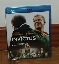 INVICTUS - BLU-RAY - NUEVO - DRAMA - MORGAN FREEMAN - MATT DAMON - HISTORICO