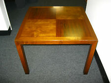 Vintage 1969 Parsons Table Mid Century Modern In-Lay Wood Coffee Table