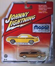 Johnny Lightning Mopar or No Car 1970 Plymouth AAR Cuda gold