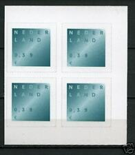 Nederland Rouwzegel nr 2049 blok v 4 witte fosfor - SCHAARS