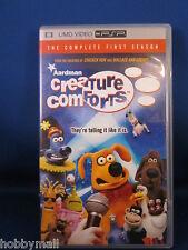 PSP Sony UMD Video Creature Comforts First Season