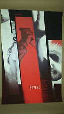 Psycho Hitchcock Movie Poster Print Mondo by Kevin Tong 304/350 Signed Sold Out