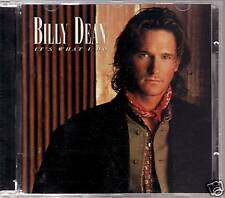 """BILLY DEAN """"IT'S WHAT I DO """" CD 1996 capitol nashville"""