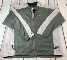 Vintage Nike Coat / Track Jacket Green Size - Large