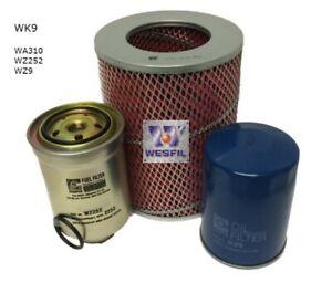 Filter Service Kit for TOYOTA HILUX 2.8L Diesel 3L LN106R LN111R LN107R LN86R