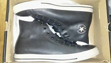 Converse Chuck Taylor CT All Star BLACK RUBBER hi top OX MENS SHOE SIZE 8
