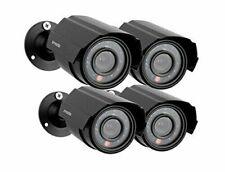 Zmodo Analog CCTV 700TVL HD Motion Bullet Security Cameras w/Night Vision 4 Pack