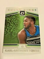 2017-18 Optic Basketball Court Kings #32 - Karl-Anthony Towns - Timberwolves