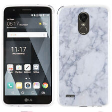 For LG Stylo 3 / Stylo 3 Plus TPU Phone Case - Marble / Clouds