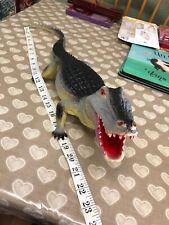 "Large Lifelike 22""Plastic Alligator Wild Reptile Animal Figurine Model Toy Gift"