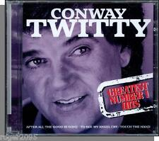 Conway Twitty - Greatest Number 1 Hits (1998) - New Front Row Entertainment CD!