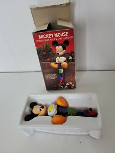 Disney Mickey Mouse Santa Kurt Adler Christmas Stocking Holder Hanger with Box