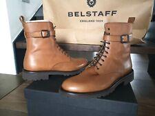 Belstaff Paddington Leder Boots Stiefelette Stiefel Gr.42 LP:579€ NEU