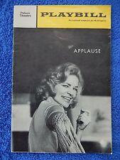 Applause - Palace Theatre Playbill - June 1970 - Lauren Becall