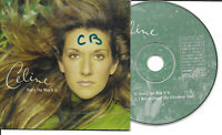 CD Single -  Celine Dion ‎– That's The Way It Is Label: Columbia ‎– COL 668255