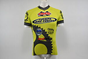 Verge V Gear Yucaipa Bike Men's S/S Cycling Jersey, Grn/Yel, 3/4, L, Brand New