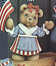 "Aunt Betsy Bear 9"" Ceramic Bisque, Ready to Paint"