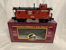 ✅MTH PREMIER WESTERN PACIFIC LIGHTED CABOOSE 20-91055! FOR DIESEL STEAM ENGINE