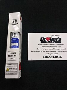 NEW GENUINE HONDA STILL NIGHT PEARL TOUCH UP PAINT 08703-B575PAH-A1