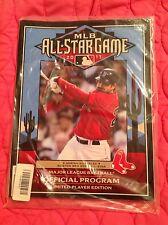2011 MLB ALL STAR GAME PROGRAM NEW ADRIAN GONZALEZ PLAYER EDITION BOSTON RED SOX