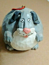 Fat Dog Ornament