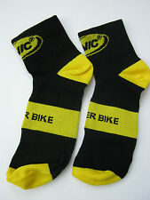 One Pair Mavic Cycling Socks, Short, Size 44-47, Official Licensed Product, NWT
