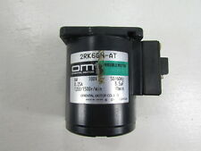 Om Oriental Motor 2Rk6Gn-At Reversible Motor 100V 50/60Hz 6W