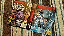 BOX ART ONLY Predator 2 II Original Sega Genesis Case Sleeve