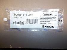 1 x  900M-T-1.2D Solder Soldering Iron Tip for Hakko  Station 900M