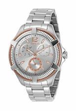 Invicta Women's 30899 Bolt Quartz 3 Hand Silver Dial Watch