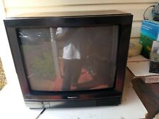"Vintage 20"" Panasonic CTK-2042 Wood Grain CRT Retro Gaming Color Television 1988"