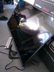 "40"" 4k Sharp TV Cracked Screen"