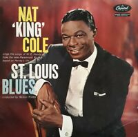 Nat King Cole Sings Songs From St Louis Blues Vinyl LP.1958 Capitol LCT 6156.