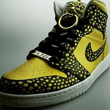 Air Jordan 1 Christian Alexander Custom Liquid Gold