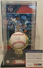 Aaron Judge RARE!! Rookie Signed Rawlings OMLB BB w/case - PSA/DNA ROOKIE COA