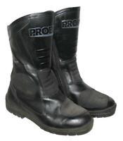 """"""" PROBIKER """" Motorradstiefel / Stiefel / Biker- Boots in schwarz ca. 38,5 -39"""