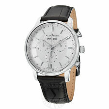 Alexander Men's A101-01 Statesman Chieftain Leather Strap Chronograph Watch