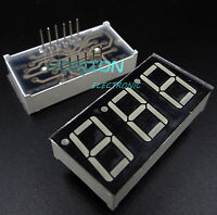 5PCS 0.56 inch 3 digit 7 segment Common cathode Red Led display
